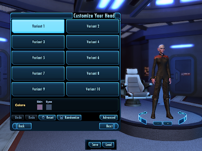 Star Trek Online - Customize Head Simple