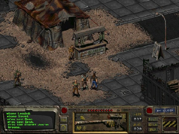fallout screenshot pc game review gameplay 4 Fallout GOG Classic ISO RAiN