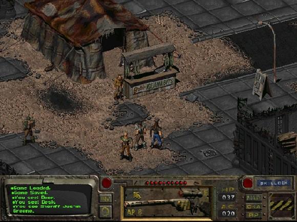 fallout screenshot pc game review gameplay 4 Fallout GOG Classic ISO RAiN