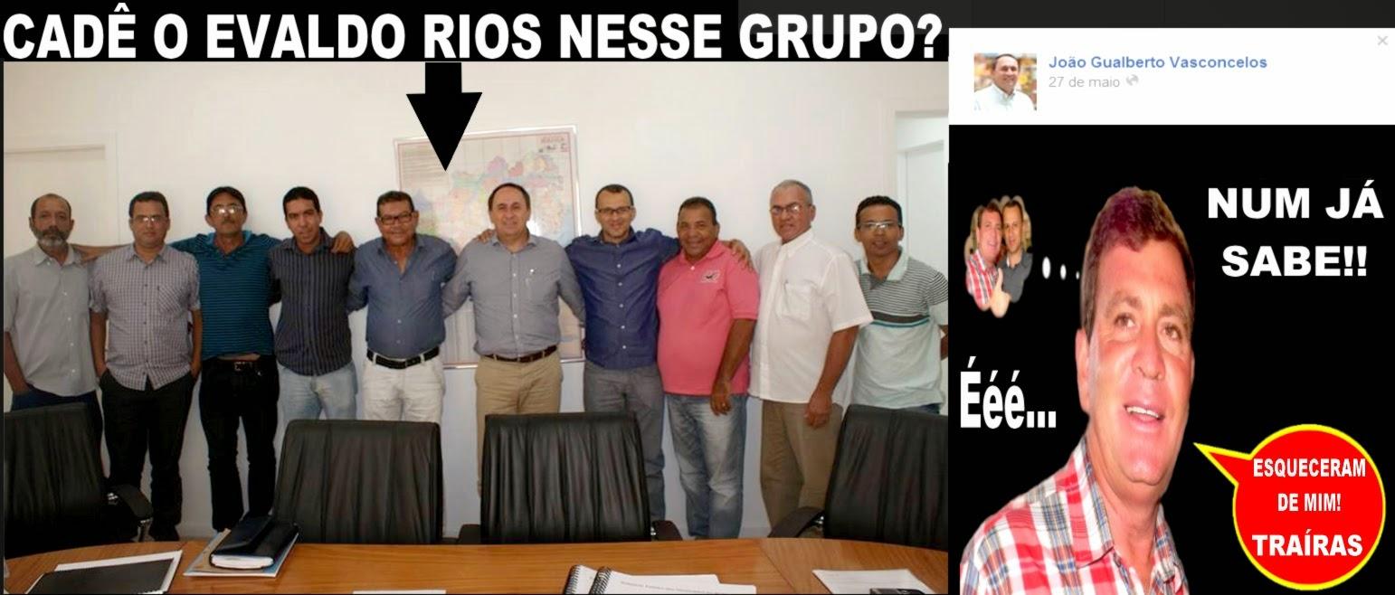 BOMBA: TRAÍRAM EVALDO RIOS EX-PREFEITO E CANDIDATO A VICE PREFEITO PELA OPOSIÇÃO EM ITIÚBA-BA