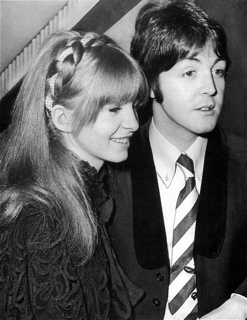 I Was A Very Little Girl When The Beatles Made It Big But Remember Well Jane Asher Who Paul McCartneys Girlfriend At Time