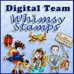 I'm so proud to design for Whimsy stamps digital team