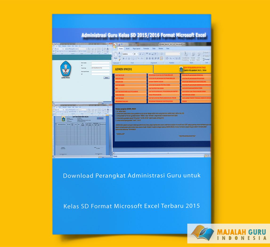 Download Perangkat Administrasi Guru Untuk Kelas Sd Format Microsoft Excel Terbaru 2015 Wiki