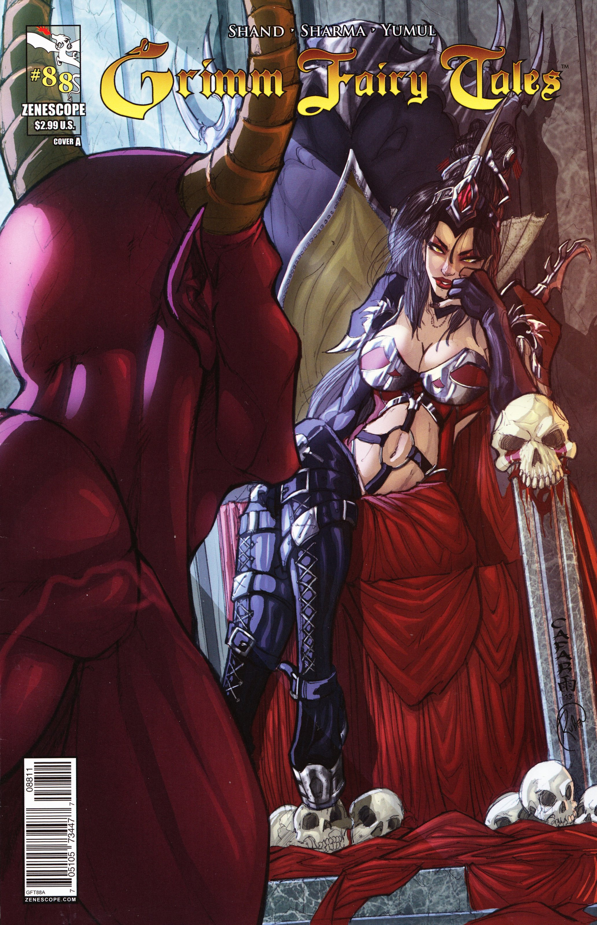 Grimm Fairy Tales (2005) Issue #88 #91 - English 1