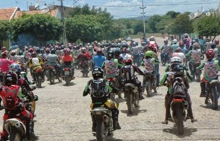 1ª Trilha dos amigos contou com mais de 300 participantes em São João do Tigre