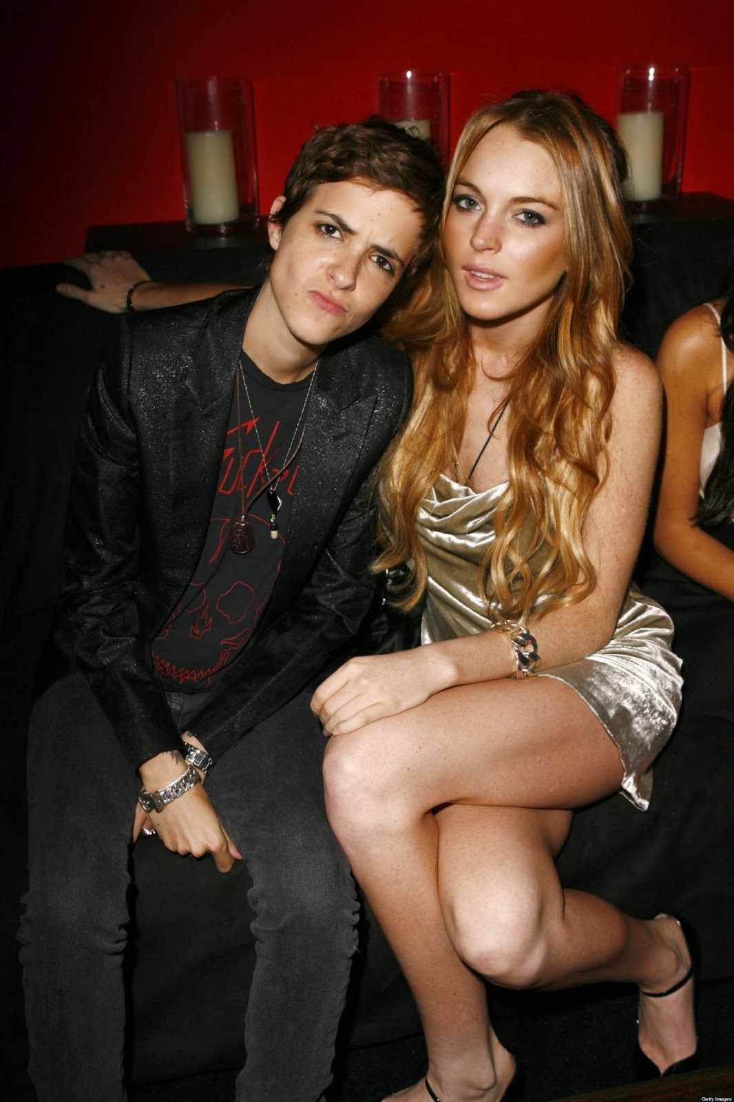Lindsay Lohan And Her Girlfriend Pictures, Samantha Ronson 1