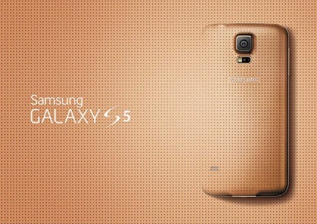 Operator Vodafone hadirkan Galaxy S5 versi Gold