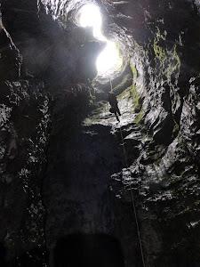Pozo entrada Torca de los Morteros