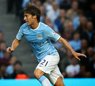 David Silva, Manchester City midfielder