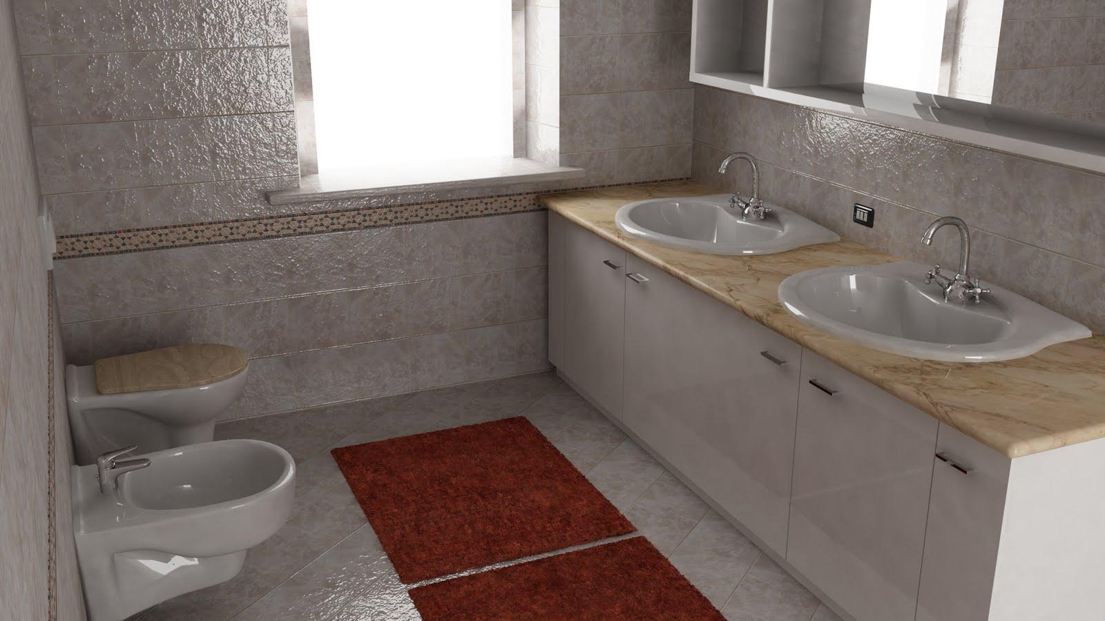 Modelli 3d download bagno v ray for Bagno v