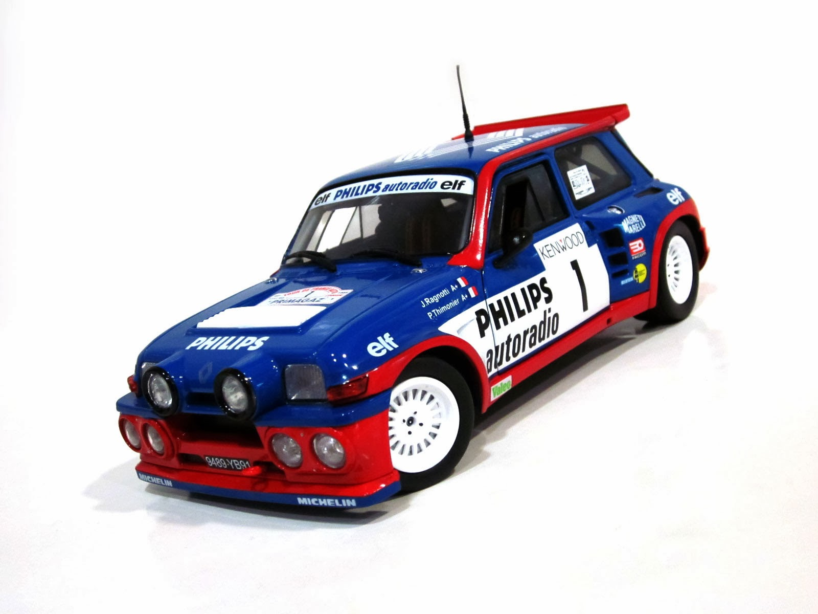Renault 5 Maxi Turbo '85 - Solido