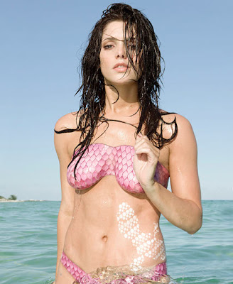 Ashley Greene Body Paint