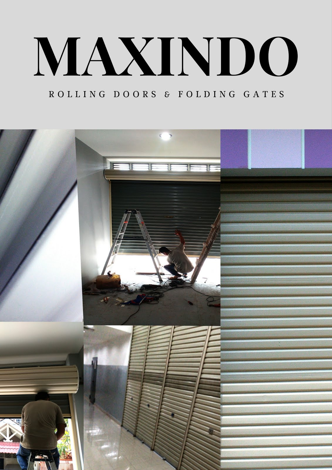ROLLING DOOR ONE SHEET