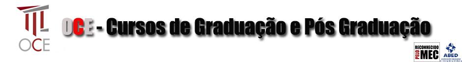 OCE - Cursos de Graduação e Pós Graduação