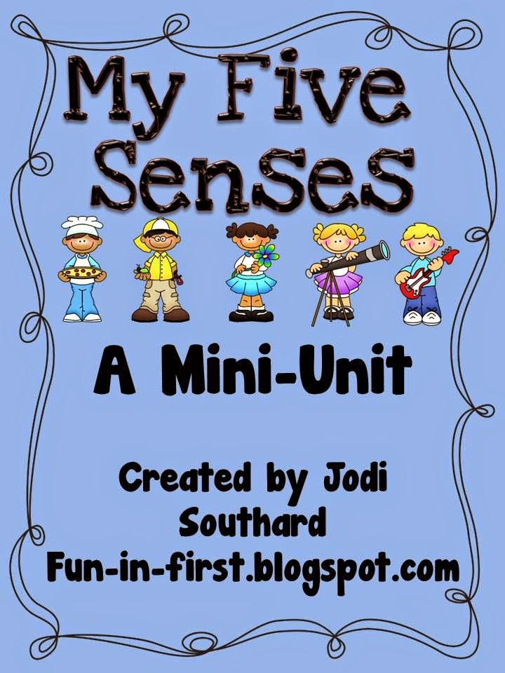 http://www.teacherspayteachers.com/Product/My-Five-Senses-149452