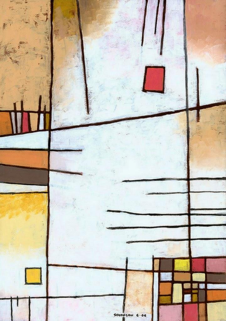 Pintura moderna y fotograf a art stica pintura abstracta for Imagenes de cuadros abstractos geometricos
