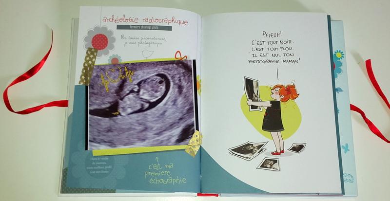 Fabuleux Mademoiselle-Coralie: Mon album de naissance pour P'titePuce {mon  YG01