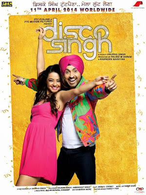 Poster Of Disco Singh (2014) In 300MB Compressed Size PC Movie Free Download At worldfree4u.com