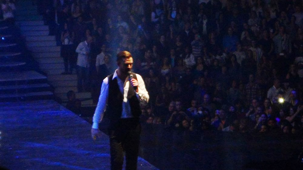 Justin Timberlake in Vancouver, January 2014