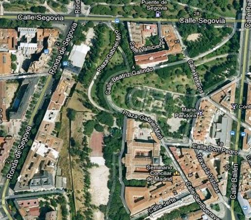 Madrid sin prisas las vistillas for Jardines de las vistillas