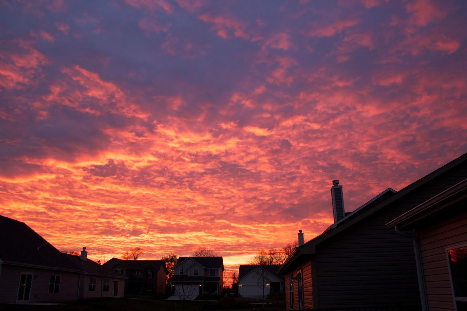 november 7 sunset