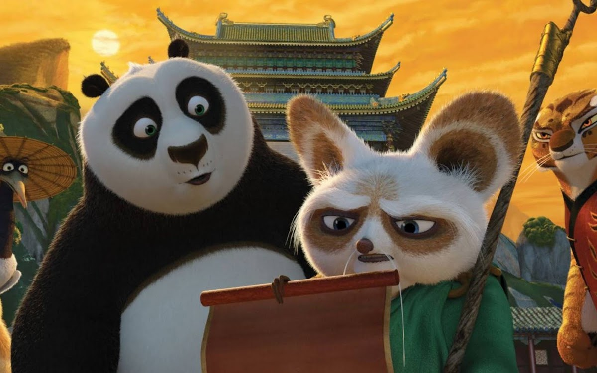 2011 Kung Fu Panda Movie Widescreen Wallpaper 4