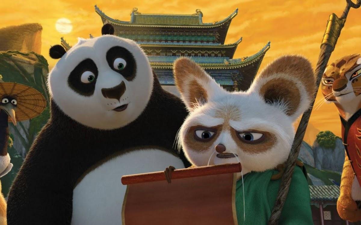 2011 Kung Fu Panda Movie Widescreen Wallpaper 4