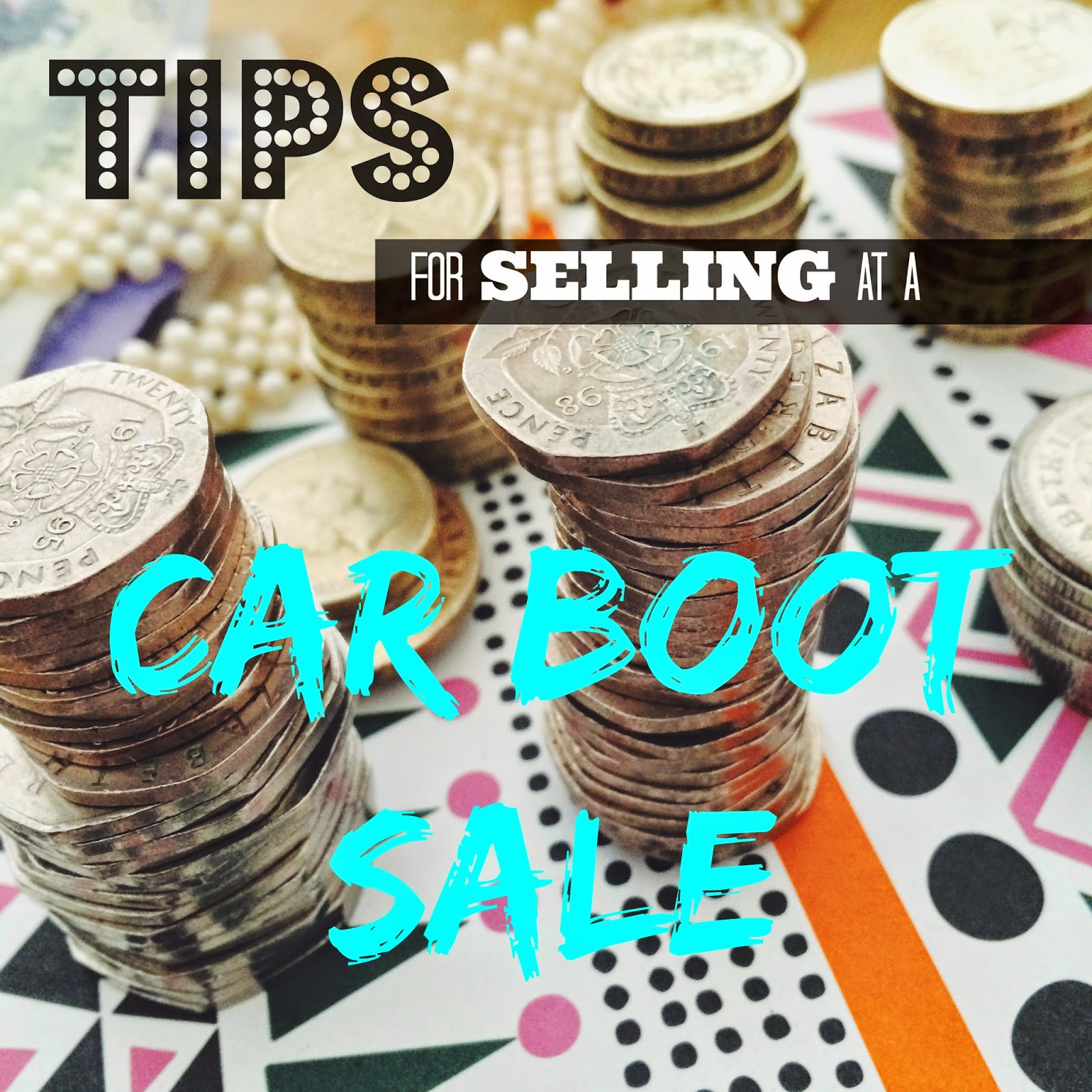 Tips For Selling Clothes At Car Boot Sale