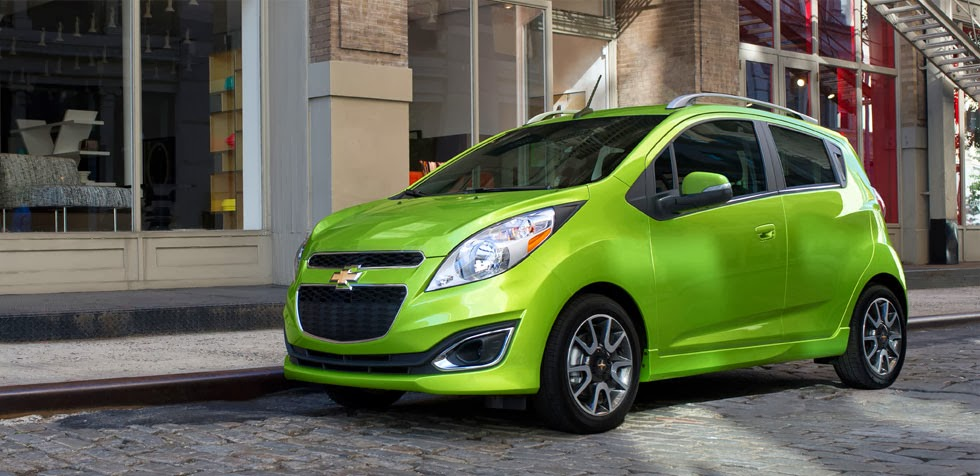 2014 Chevy Spark Only Minicar to Earn Top Safety Pick Rating