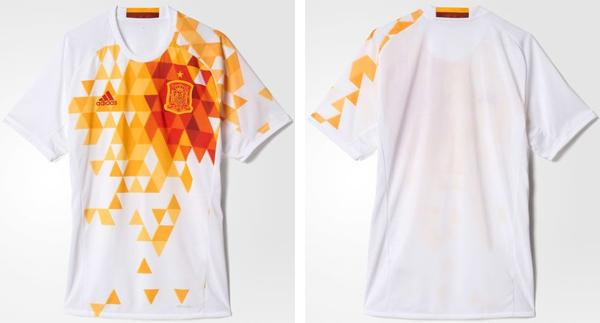 segunda camiseta selección española Eurocopa 2016 comprar precio barata