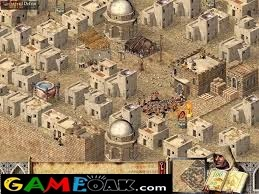 Stronghold Crusader game view