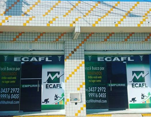 Escritório de Contabilidade - ECAFL -TAUÁ. 3437-2972 ou 9.9916.0455.