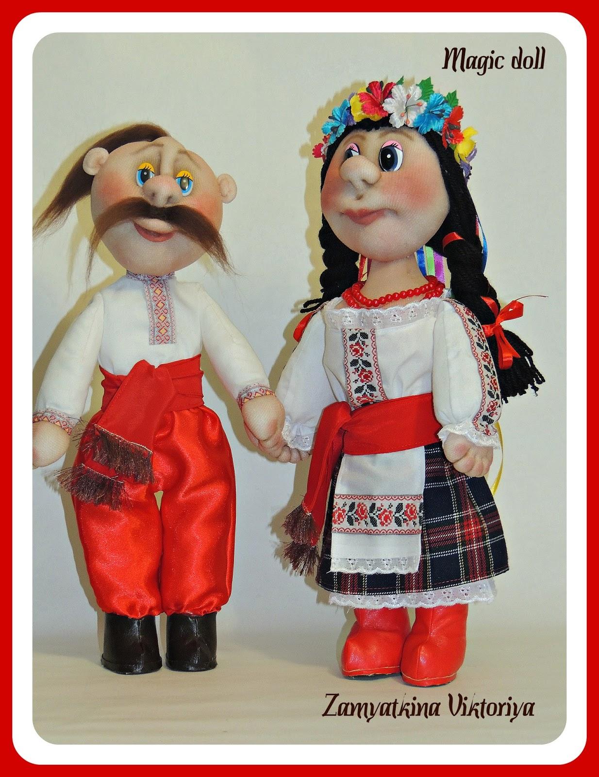 Кукла своими руками казак