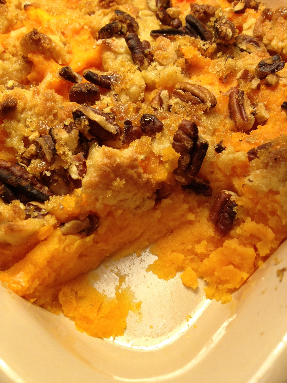 Healthy Makeover: Sweet Potato Casserole