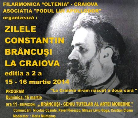 Brancusi la Craiova, Simpozion partea I