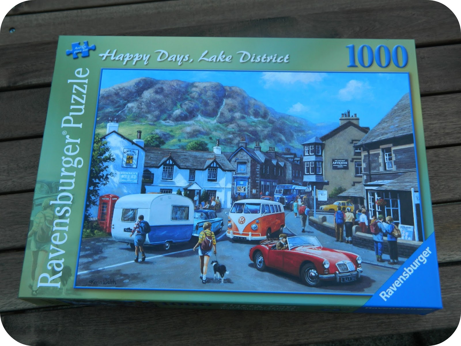 Ravensburger Happy Days Lake District 1000 Piece Jigsaw Puzzle