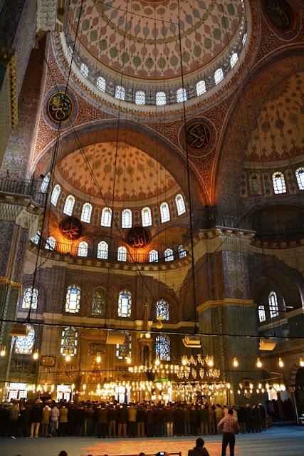 Yeni Camii Istanbul Domes