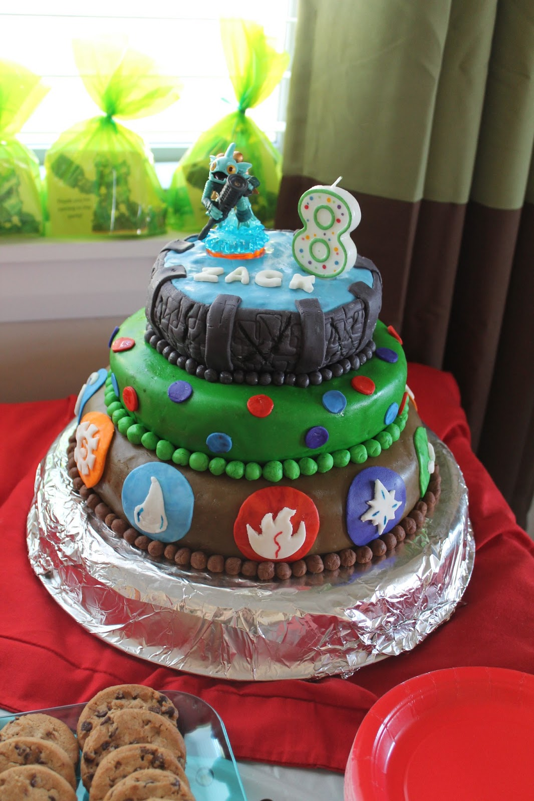 The Condon Clan 2013 Fondant Cakes