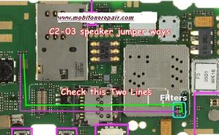 C2-03 Speaker ways jumper