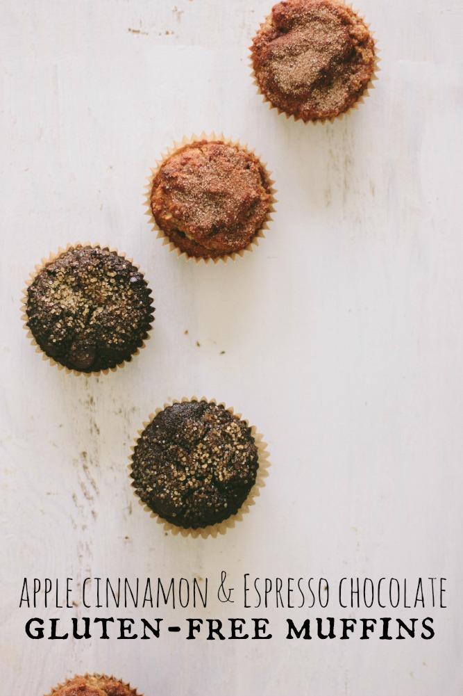 gluten free muffins (again + again)