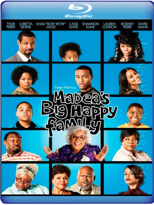 Madea's Big Happy Family (Español Latino) (BRrip) (Audio AC3) (2011) (partes de 250 MB y 1 LINK) (Mirrors)