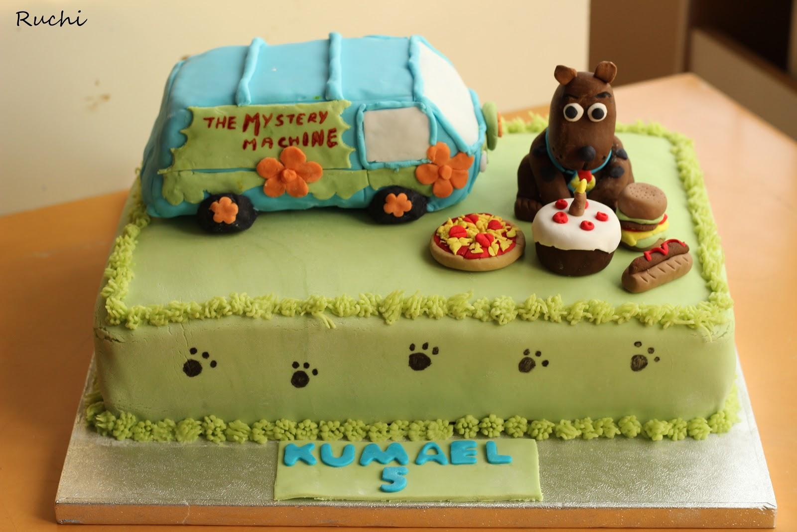 Cake Images Ruchi : RUCHI: Scobee Doo Cake