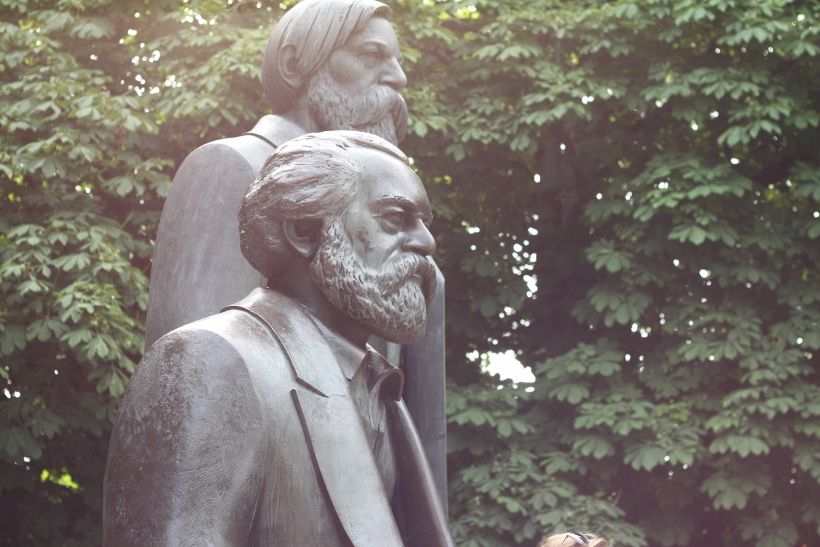 Marx and Engels Berlin
