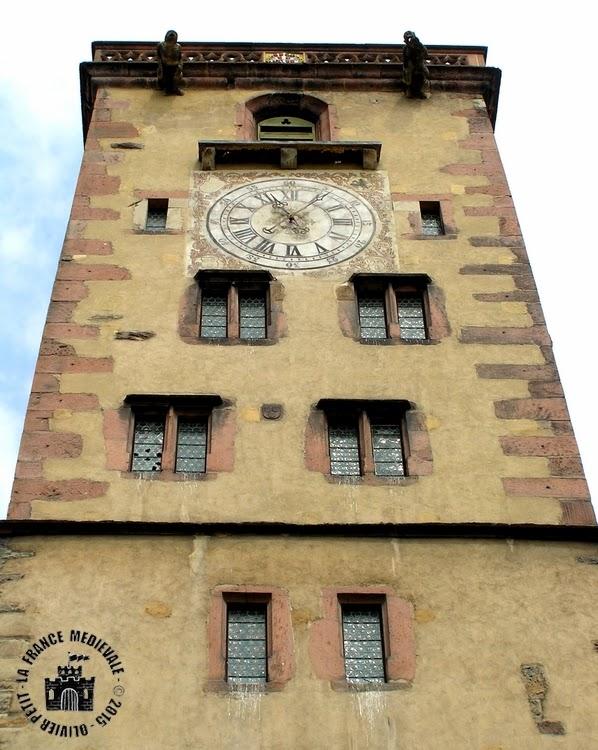 RIBEAUVILLE (68) - La Tour des Bouchers