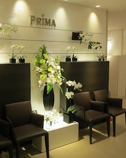 PRIMA梅田大丸店の店内