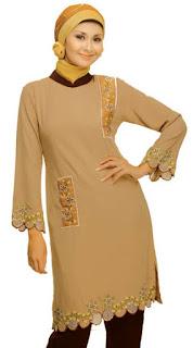 blus muslimah cantik