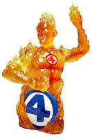 Human Torch (Marvel Comics) Character Review - Bust Product