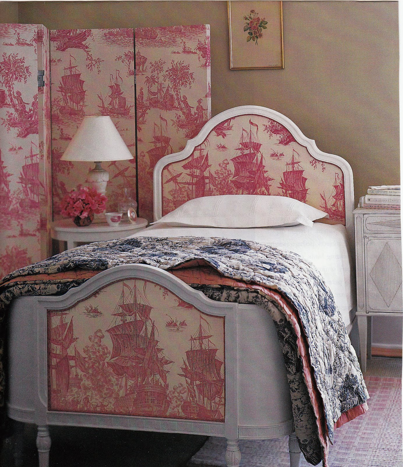 Hydrangea Hill Cottage French Country Decorating: Hydrangea Hill Cottage: Toile Tales