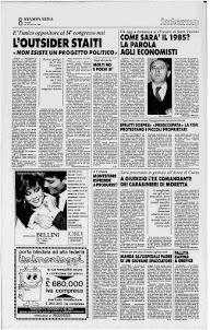 LA STAMPA 30 NOVEMBRE 1984