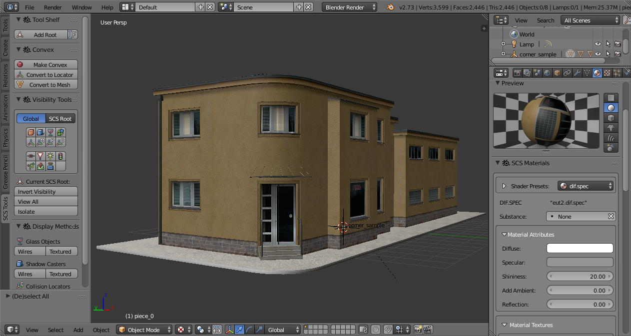 Scs software 39 s blog scs blender tools first step Online modeling program